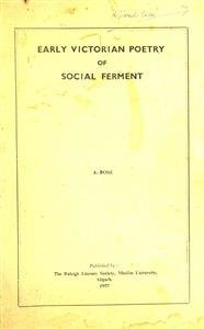 Early Victorian Poetry of Social Ferment