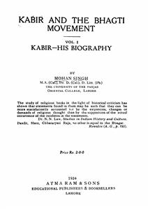 Kabir And The Bhagti Movement